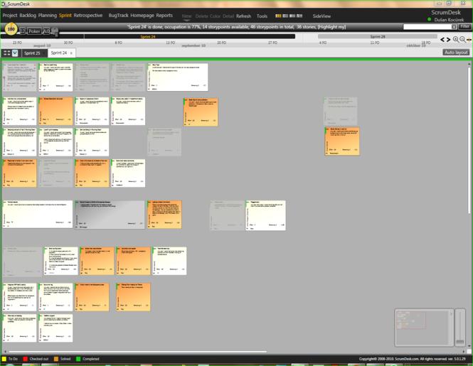 ScrumDesk Screenshot