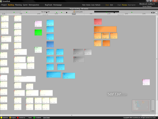 ScrumDesk Screenshot 2