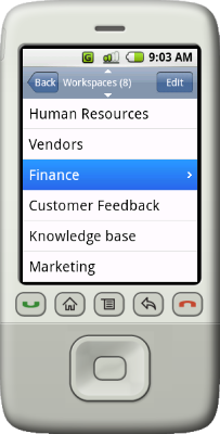 Upvise Workspaces Screenshot 1