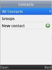 Upvise Contacts Screenshot