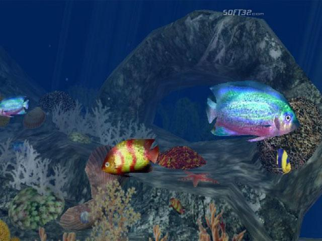 3D Aquatic Life Screensaver: Fish! Screenshot 2