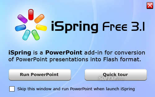 iSpring Free PowerPoint to Flash Converter Screenshot 2