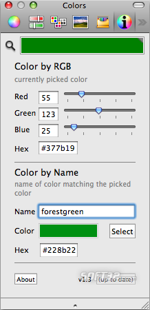 ColorNamePicker Screenshot