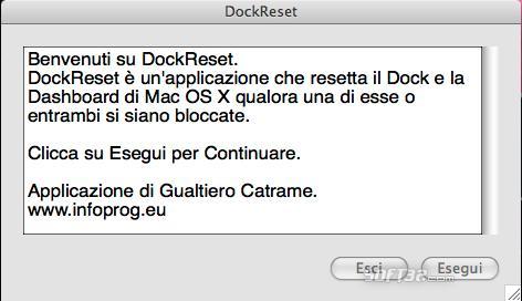 DockReset Screenshot
