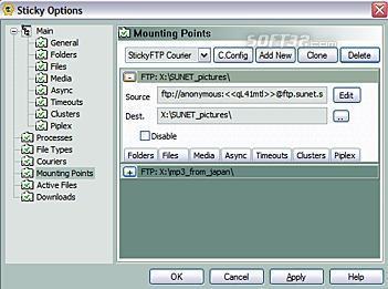 StickyFolders Screenshot 1