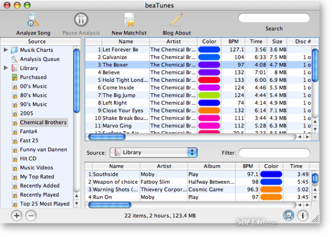 beaTunes Screenshot