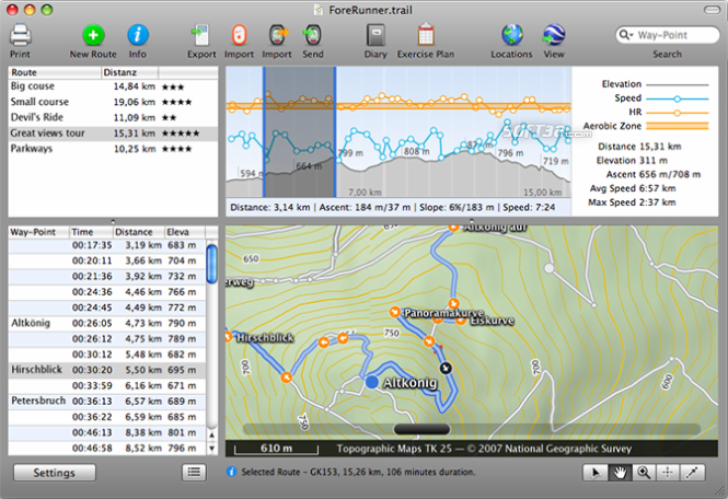 TrailRunner Screenshot 1