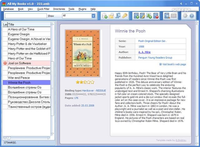 All My Books Screenshot 2