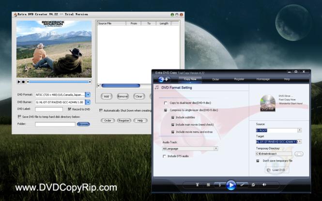 Extra DVD Copy Creator Screenshot