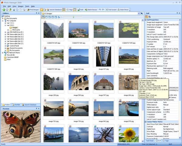 Photo Manager 2010 Standard Screenshot 1