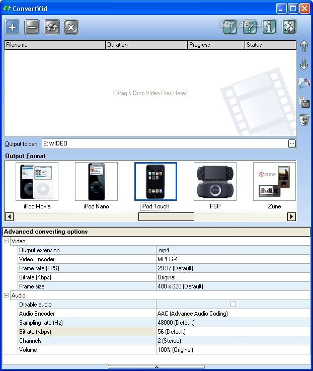 ConvertVid Screenshot 2