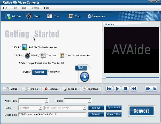 EZuse RM Converter Screenshot
