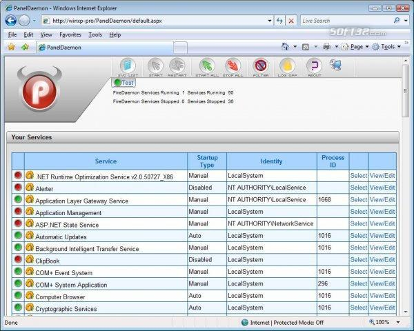 PanelDaemon GPL Screenshot 2
