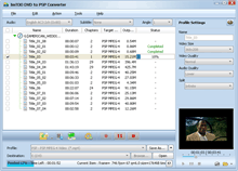 ImTOO DVD to PSP Converter Screenshot