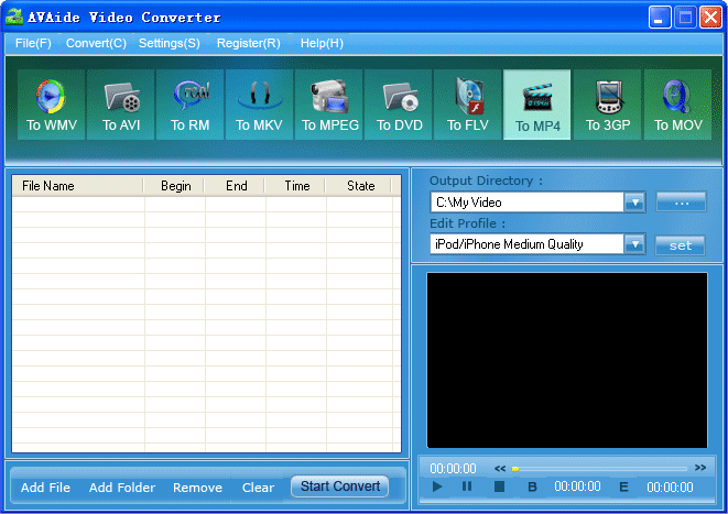 EZuse Video Converter Screenshot 1
