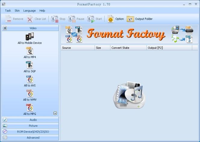 FormatFactory Screenshot 1
