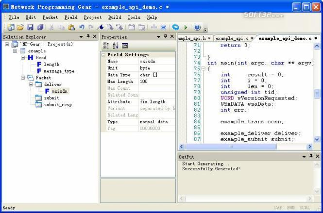 Network Programming Gear Screenshot 1