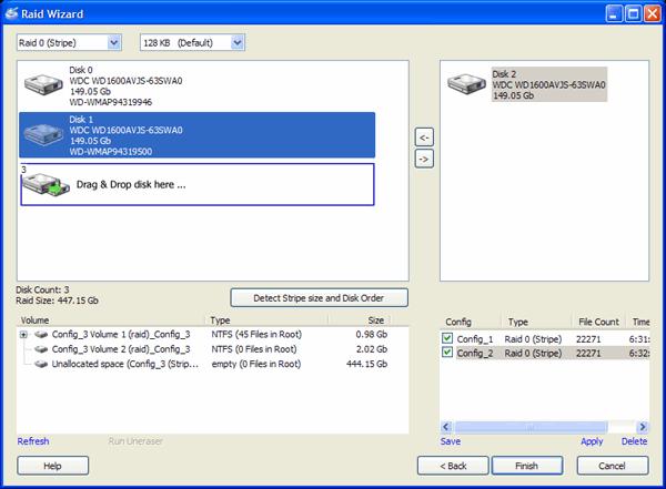 DiskInternals Raid Recovery Screenshot 1
