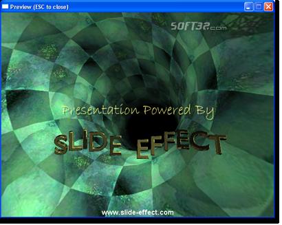 Slide Effect Screenshot 2