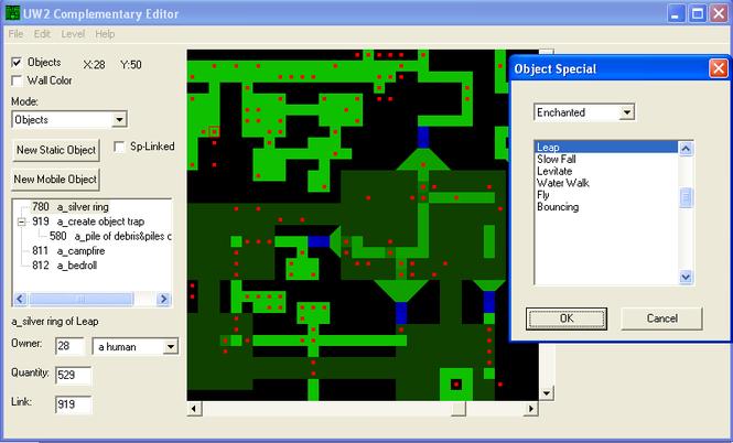 UW2 Complementary Editor Screenshot 1