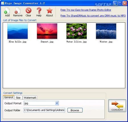 Kigo Image Converter Screenshot 3