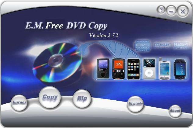 E.M. Free DVD Copy Screenshot 1