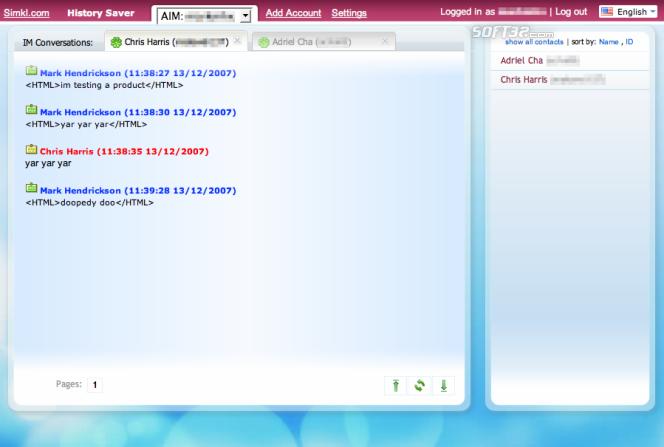 Simkl Tray Screenshot 2