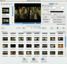 4Media DVD Frame Capture for Mac Screenshot