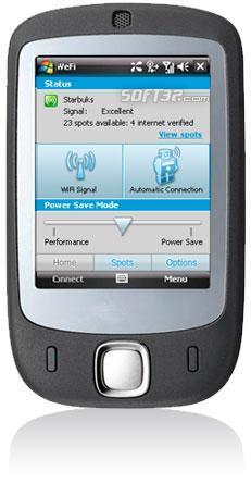 WeFi for Pocket PC Screenshot 1
