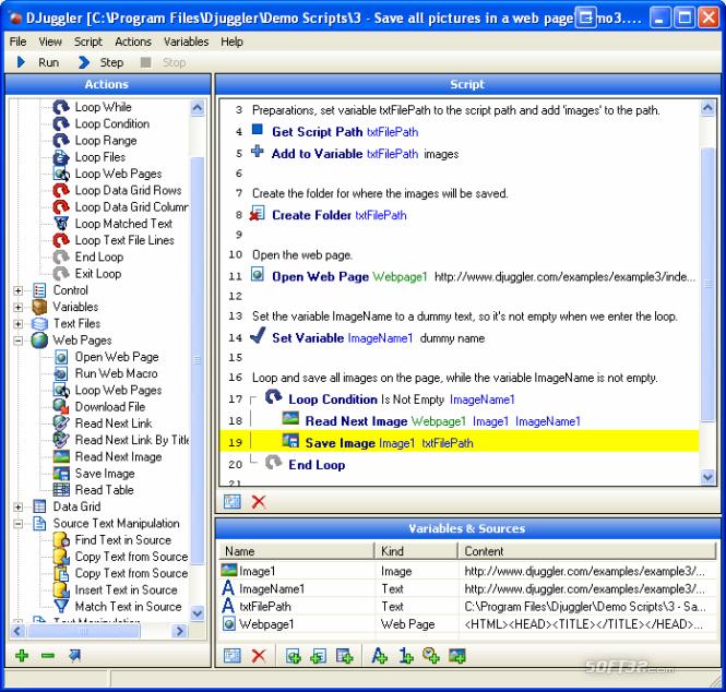 Djuggler Personal Screenshot 2