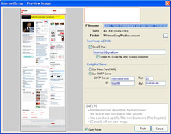 InternetScrap Screenshot 1