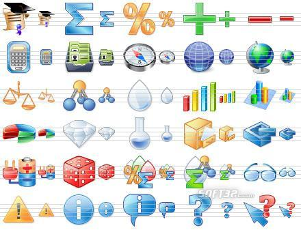 Science Toolbar Icons Screenshot 2