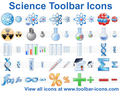 Science Toolbar Icons 1