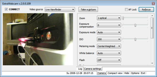ExtraWebcam Screenshot 1