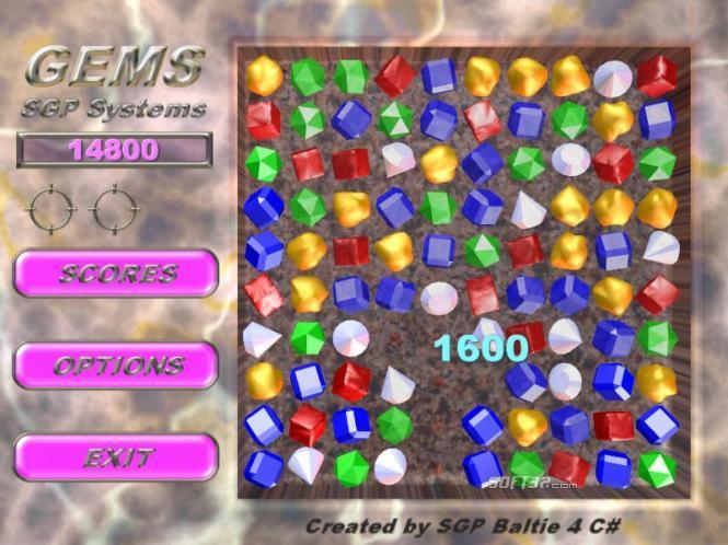 SGP Gems Screenshot 2