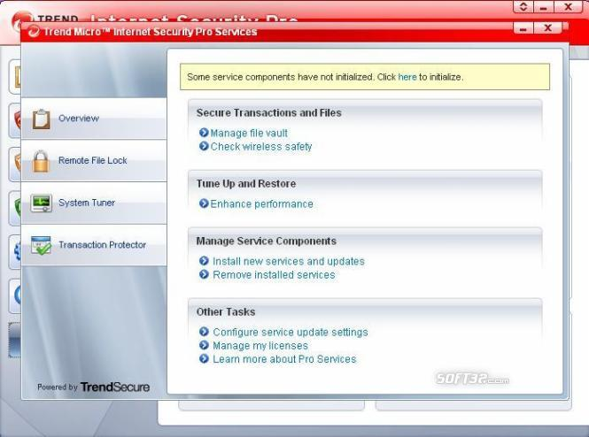 Trend Micro Internet Security Pro Screenshot