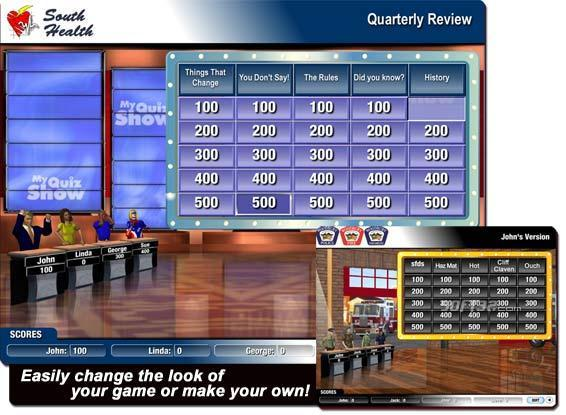 My Quiz Show Screenshot