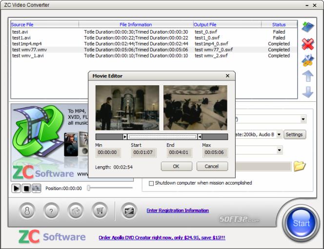 ZC Video Converter Screenshot 4