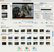 Xilisoft DVD Snapshot for Mac Screenshot