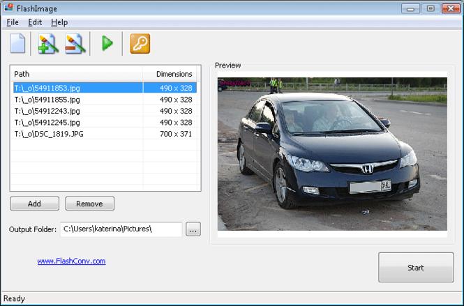 FlashImage Screenshot 1