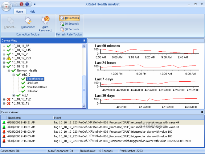 XRatel Performance Suite Screenshot 2
