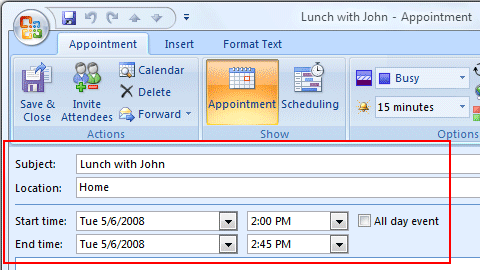 Easy2Add for Outlook Screenshot