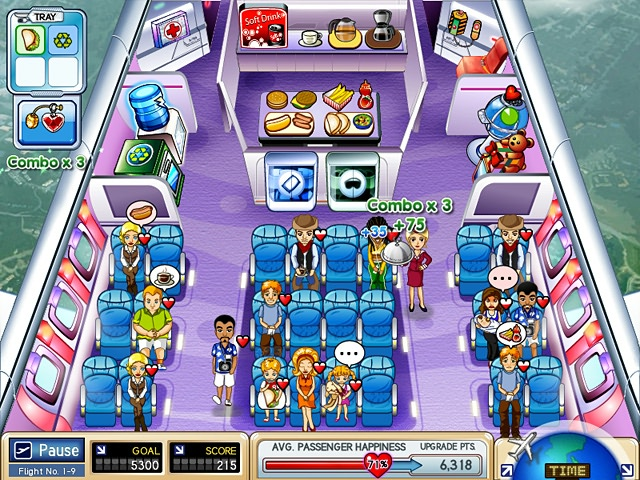 First Class Flurry Screenshot 1