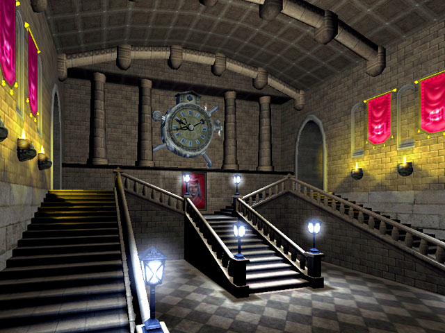 School of Magic 3D Screensaver Screenshot