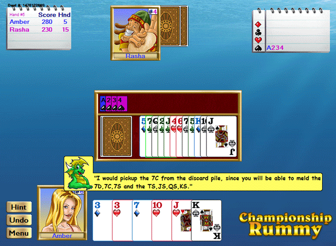Championship Rummy All-Stars for Windows Screenshot 1