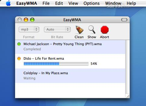 EasyWMA Screenshot