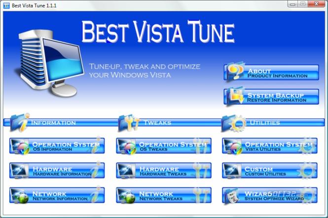 Best Vista Tune Screenshot 2