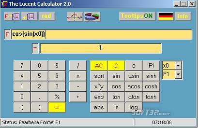 The Lucent Calculator 2.0 Screenshot 2