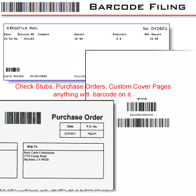 Simple Barcode Filer Screenshot 1