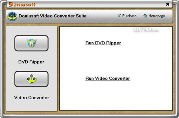 Daniusoft Video Converter Suite Screenshot